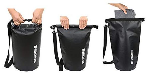 MARCHWAY Bag Roll Top Sack Keeps for Swimming, Fishing
