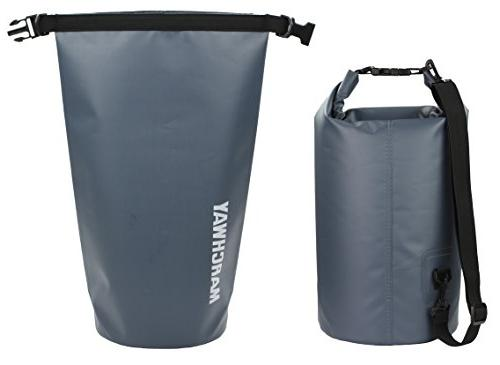 MARCHWAY Waterproof Duffel Dry Backpack 5L/10L/20L/30L/40L, Roll Sack Keeps Gear Dry Kayaking, Rafting, Camping, Beach,