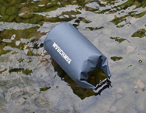MARCHWAY Waterproof Dry Bag Backpack Roll Keeps Kayaking, Camping, Hiking,