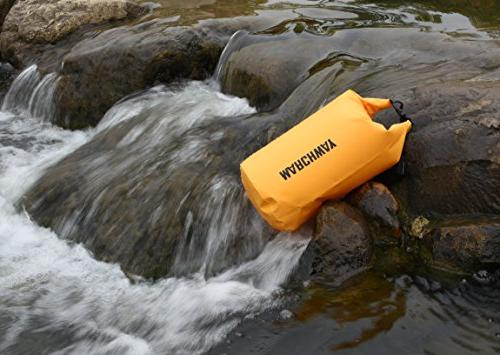 MARCHWAY Floating Duffle Dry Bag Roll Top Keeps Dry for Boating, Camping, Beach,