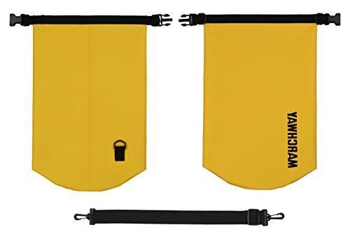 MARCHWAY Waterproof Duffle Dry Top Sack Dry for Kayaking, Rafting, Beach,
