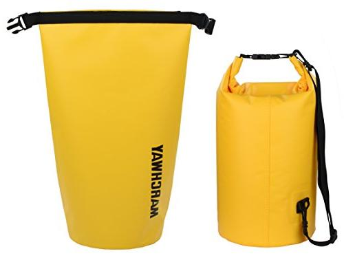 MARCHWAY Dry 5L/10L/20L/30L, Top Sack Dry for Boating, Camping, Beach,