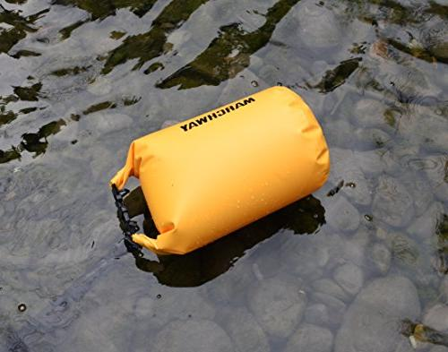 MARCHWAY Floating Dry Bag 5L/10L/20L/30L, Top Dry for Kayaking, Rafting, Boating, Beach,