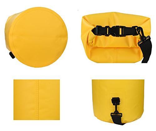 MARCHWAY Floating Waterproof Duffle Dry Bag Top Keeps Gear Dry Kayaking, Boating, Camping, Hiking,