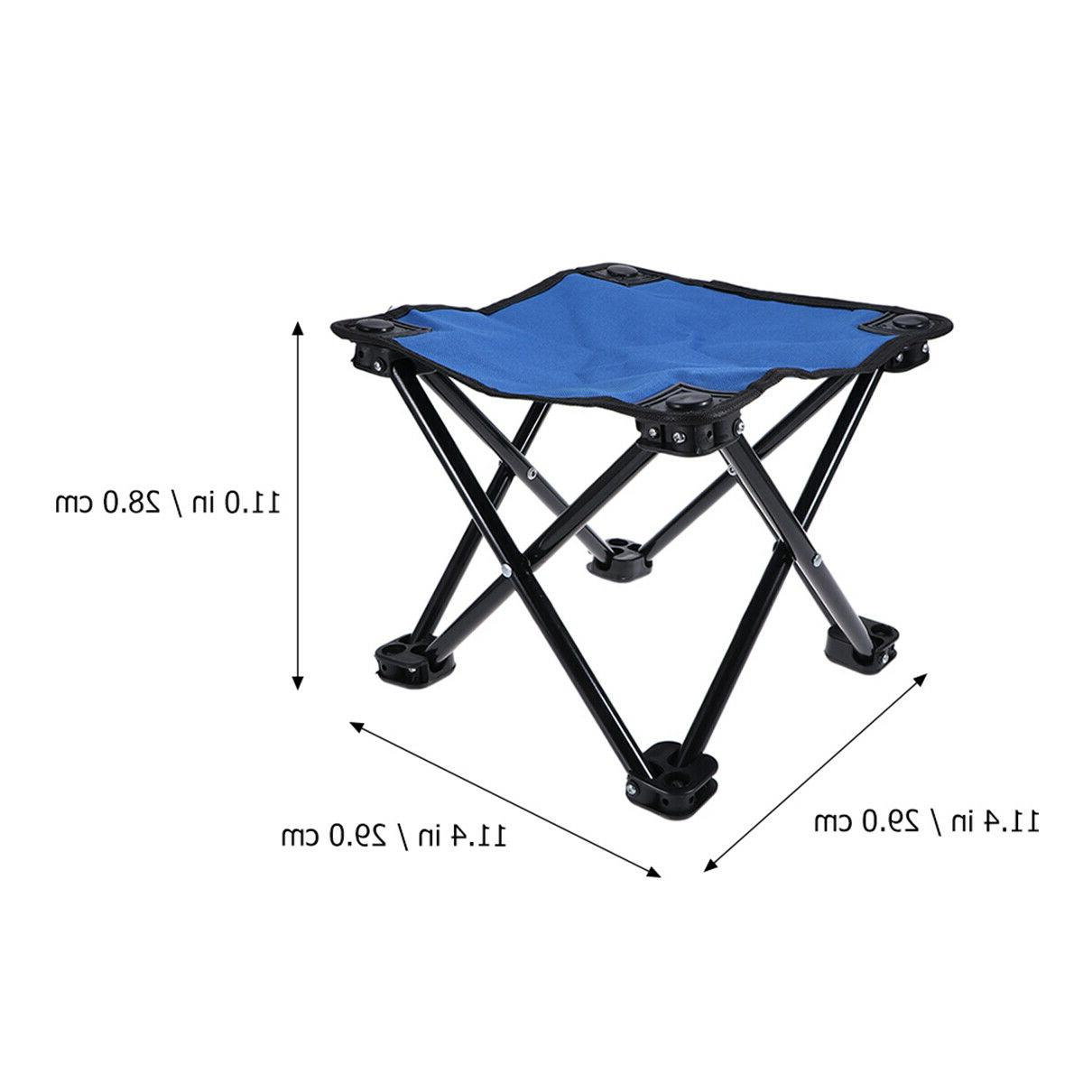 Foldable Fishing Chair Fishing Gear Camping Stool Seat for