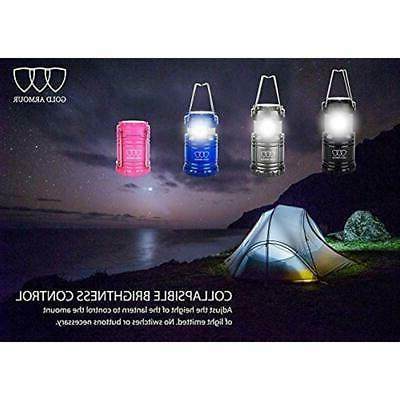 Gold 4 Pack Camping Lanterns - For