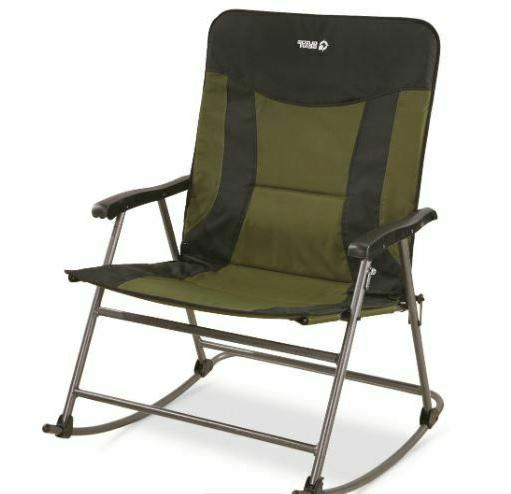 Guide Gear Oversized Xxl Rocking Camp Chair 600 Lb