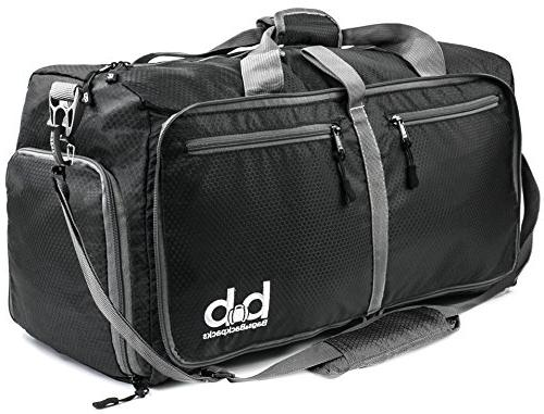BB Large Duffle Bag with Pockets for Women and Men - Travel