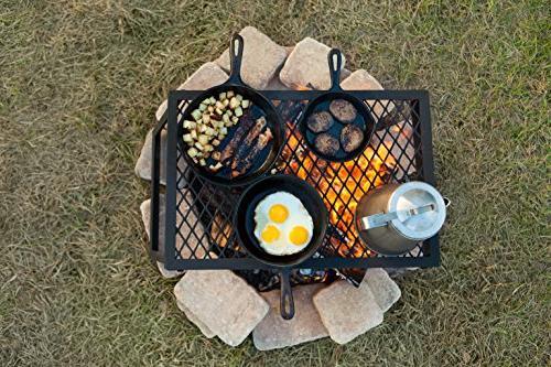 AmazonBasics Heavy Campfire Grill,