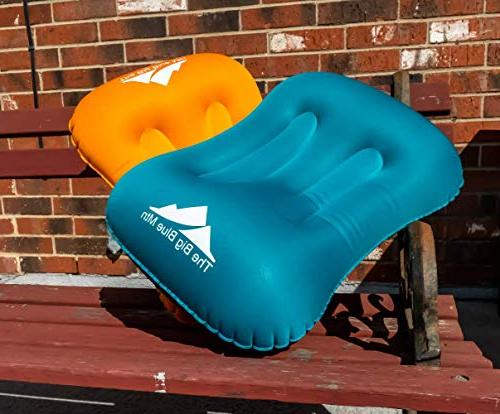 TheBigBlueMtn Backpacking Inflatable Camping 2 Set Pouch - Summit Gear For Travel