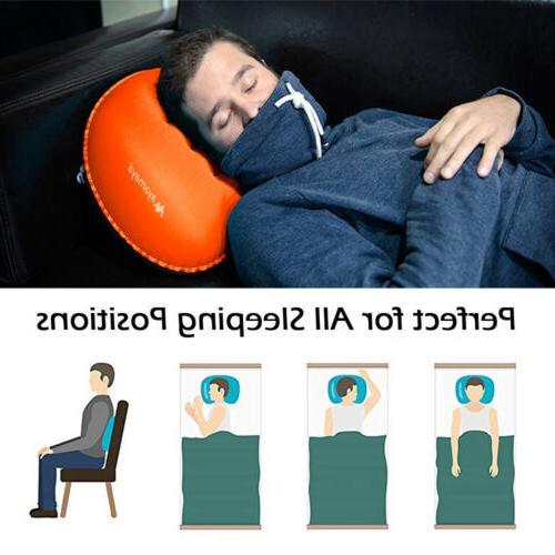Inflatable Air Pillow Backpacking+Cotton