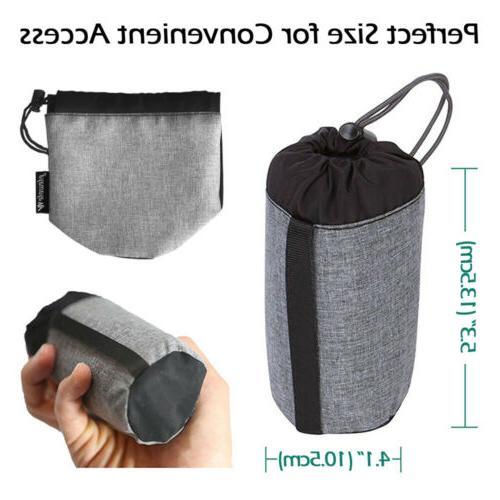 Inflatable Travel Pillow Backpacking+Cotton Cover
