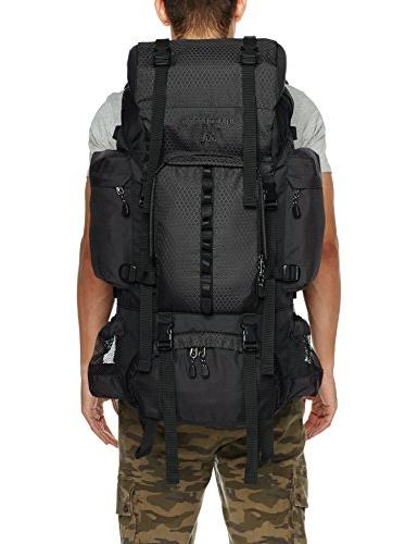 AmazonBasics Backpack with Rainfly, L, Black