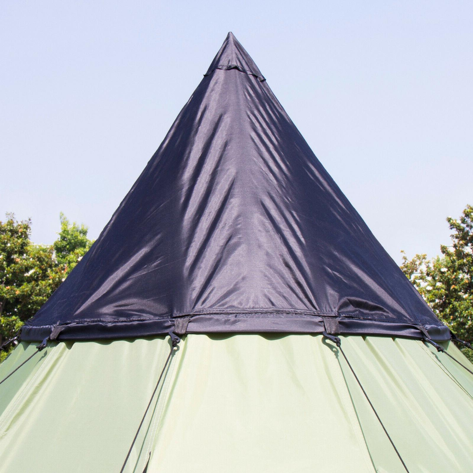 Large Camping 6 Person Shelter Hiking Equipment