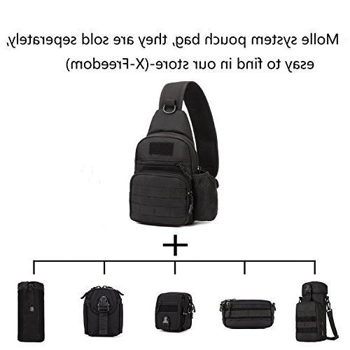X-Freedom Military Casual Sling Bag Shoulder Bag Crossbody Daypack Bag