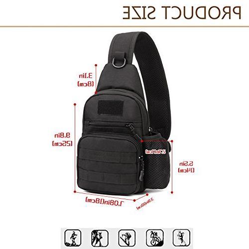 X-Freedom Casual Chest Pack Bag Shoulder Bag Crossbody Daypack Bag