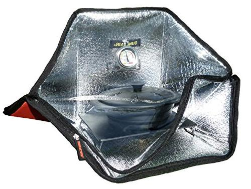 Sunflair Mini Portable Solar Oven Camping Stove, New
