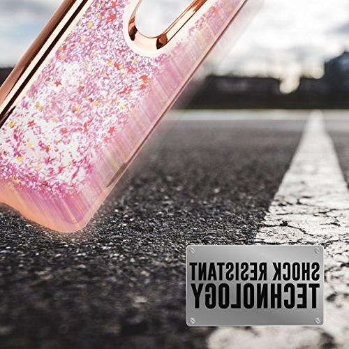 For MOTO PLUS, E5+, XT1924, E PLUS 5th E5+ Liquid Glitter Stars Shockproof Protective TPU Case