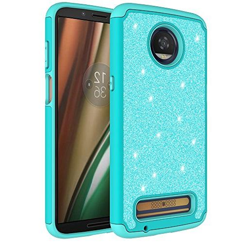 PLAY, Z Play 3rd Generation Glitter Bling Sparkle Dual Layer Case With