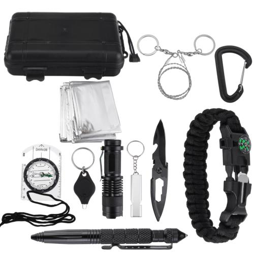 multi function sos emergency camping survival equipment