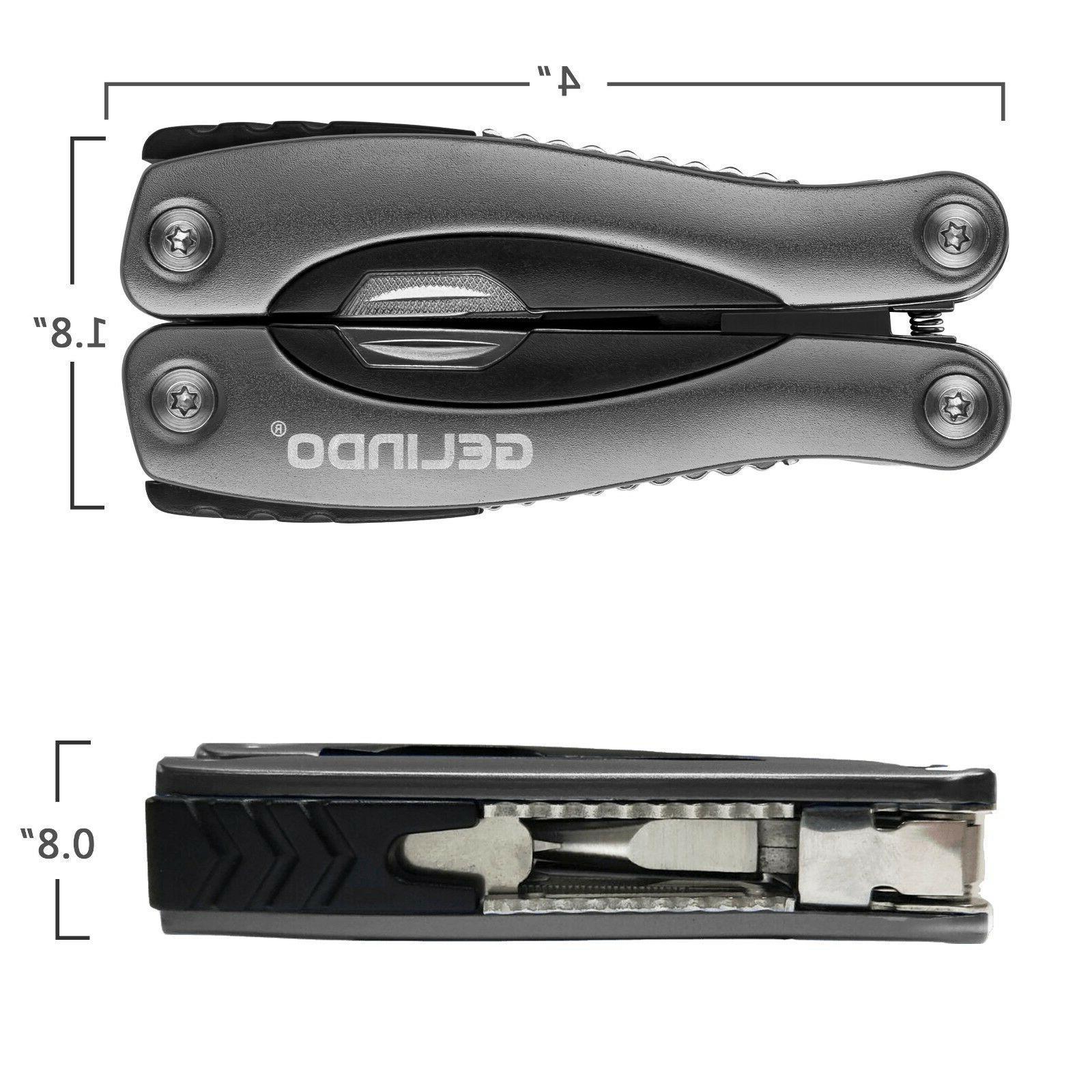 Multi Tool Plier Pocket Hiking New