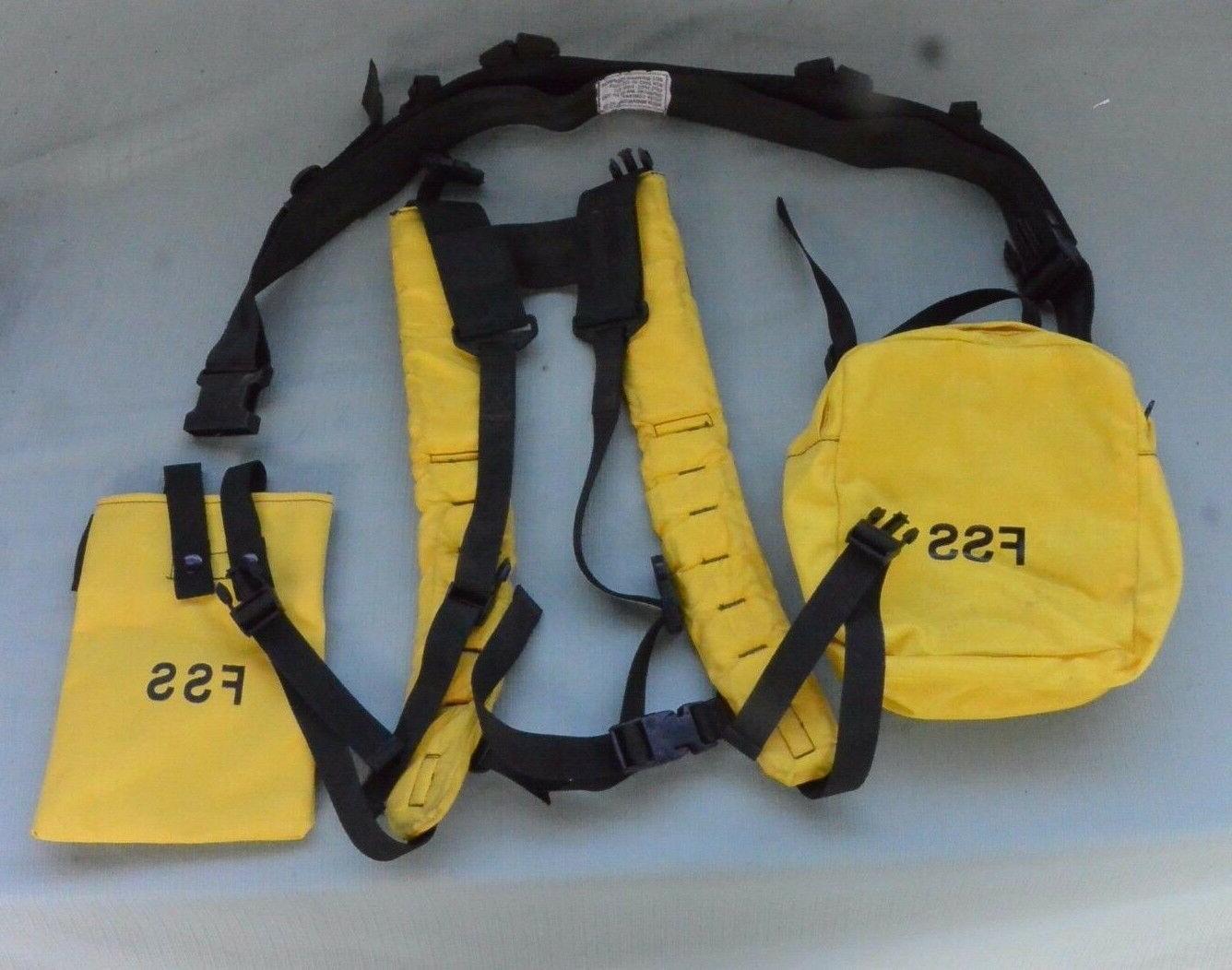 new firefighter web gear belt pack hunting