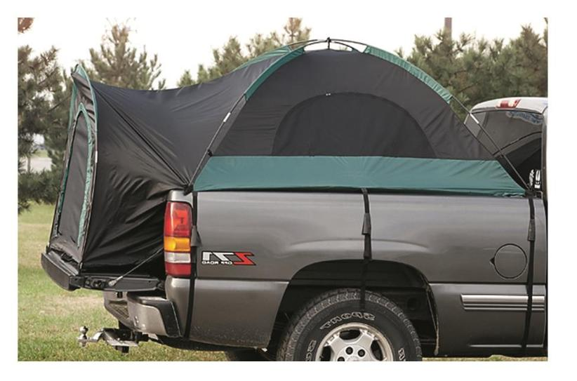 NEW Guide Gear Compact Truck 2 Camping Sleeper Canopy