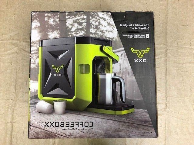 new in box authentic coffeeb jobsite single