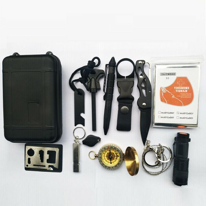 Emergency Kit Camping Hiking Tactical Gear Backpack