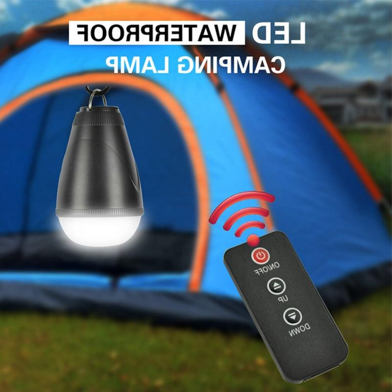 LED <font><b>Camping</b></font> Tent Light With Remote Contr