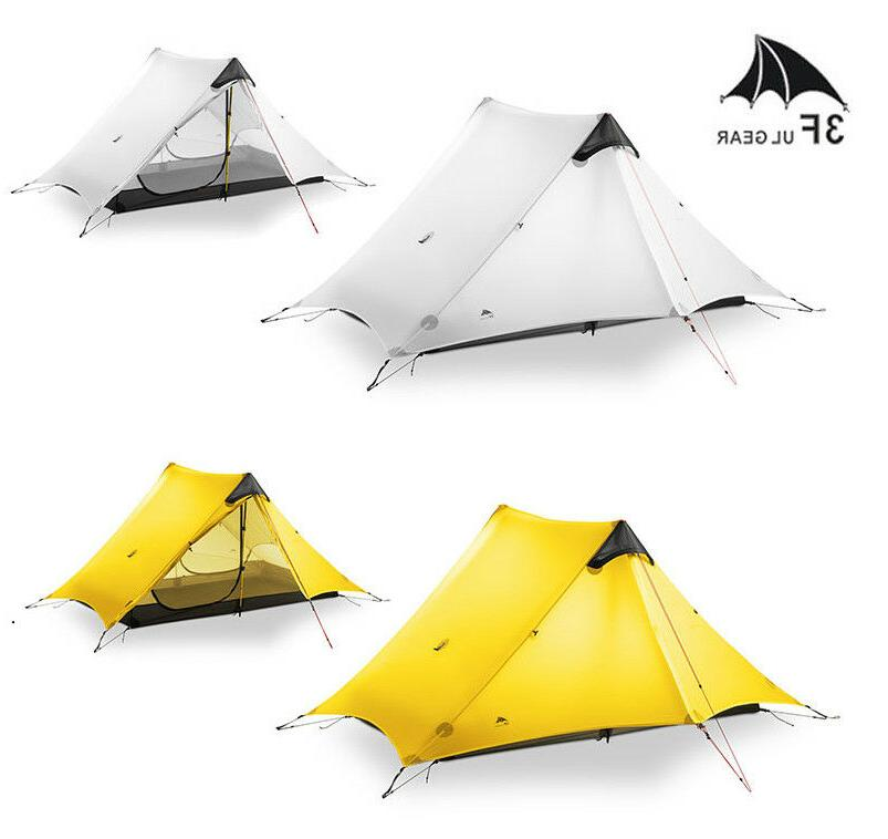 Wholesale Outdoor Ultralight Camping Tent 3 Season LanShan 3