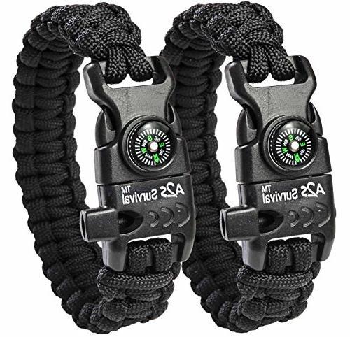 paracord bracelet k2 peak camping