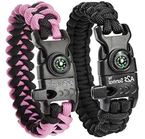 paracord bracelet k2 peak gear