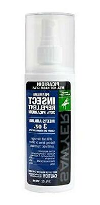 Premium Picaridin Insect Repellent with Spray Pump - Size: 3