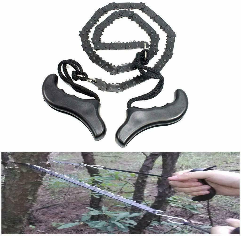 Pocket Chain Portable Folding Hand Chainsaw Gear Outdoor for
