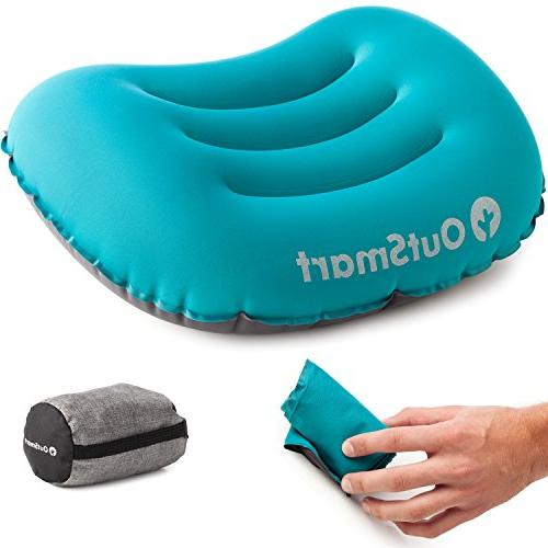 portable camp pillow inflatable camping