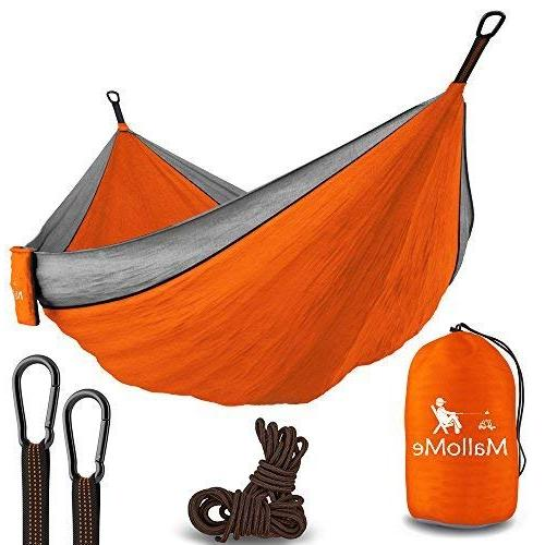 portable camping double hammock lightweight hiking