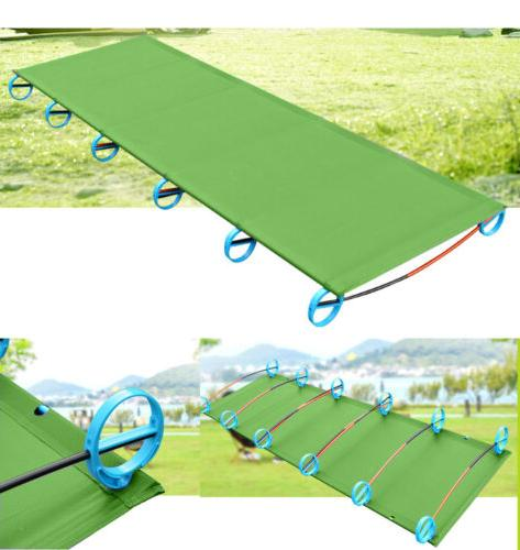 Portable Folding Bed Alloy Tent Cot Outdoor