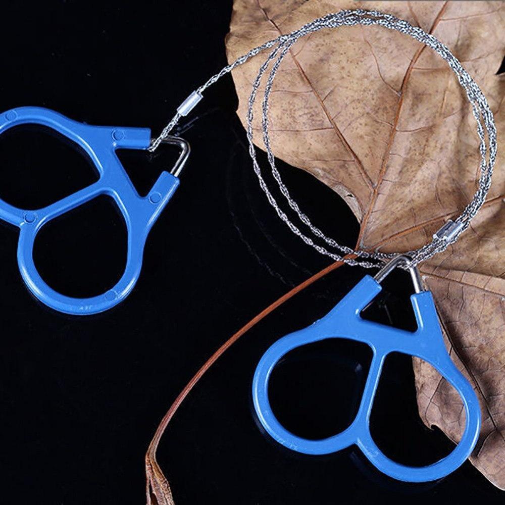 Portable Plastic Wire Saw Scroll Travel Hand Tool <font><b>Gear</b></font> Pocket Saw