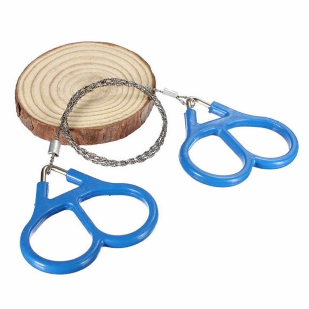 Portable Outdoor Wire Ring Travel Hand Tool <font><b>Folding</b></font> <font><b>Gear</b></font> Pocket Saw