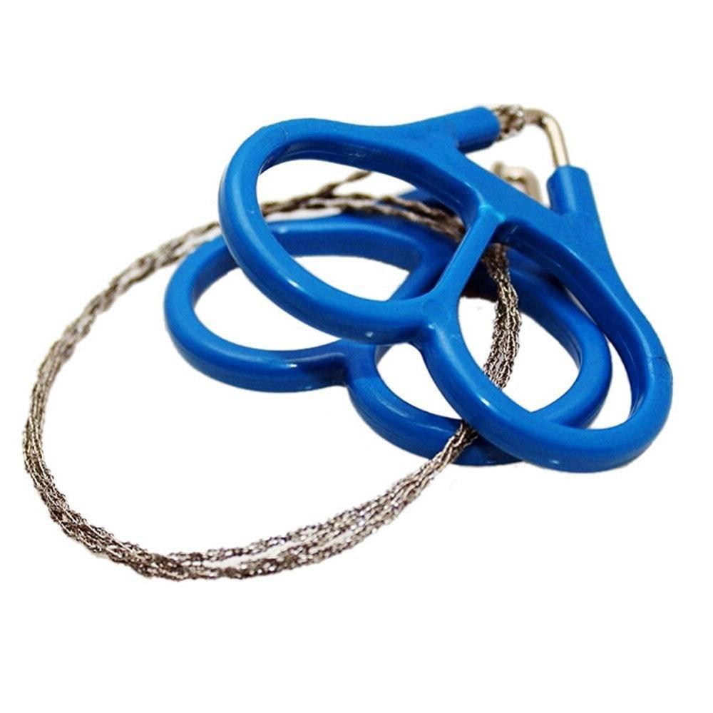 Portable Steel Wire Ring Scroll Travel <font><b>Camping</b></font> Emergency Hand <font><b>Folding</b></font> Pocket Saw