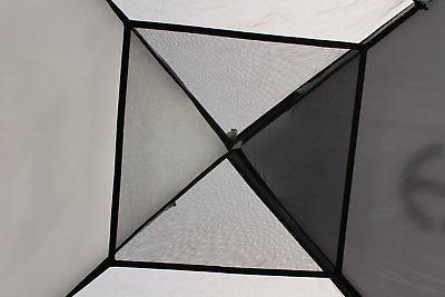 Tahoe Gear 3-Person 3-Season Camping Tent, Black/Grey |