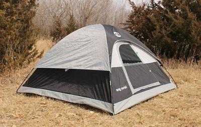 Tahoe Gear Powell 3-Season Camping Black/Grey