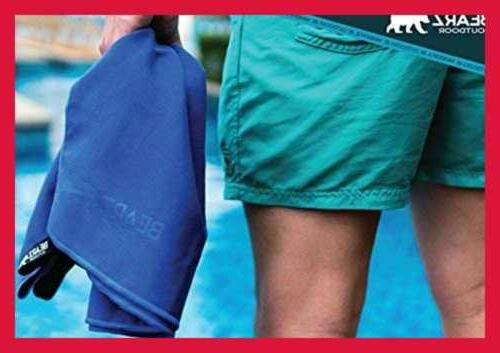 Quick Dry 2 Pack Travel Towel Hiking Set