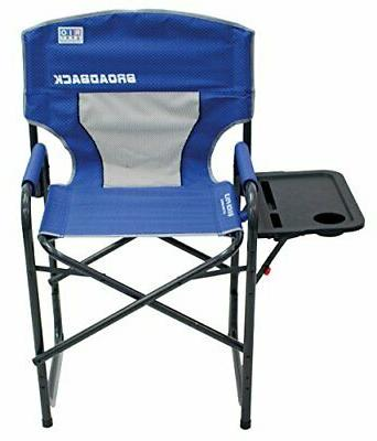 RIO Gear Broadback Oversized Director's Chair, Blue