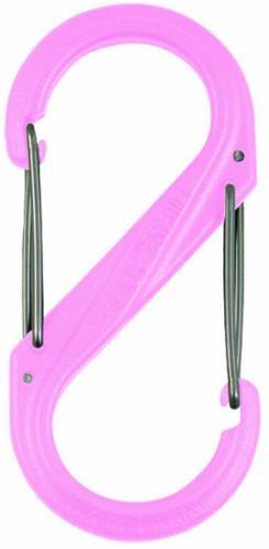 Nite Ize SBP0-2PK-12 S-Biner Double Gated Plastic Carabiner,