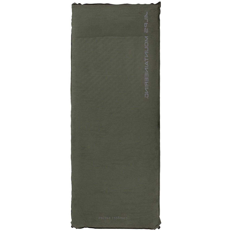 Green Regular Comfort Air Pad Self Inflating Camping Sleepin