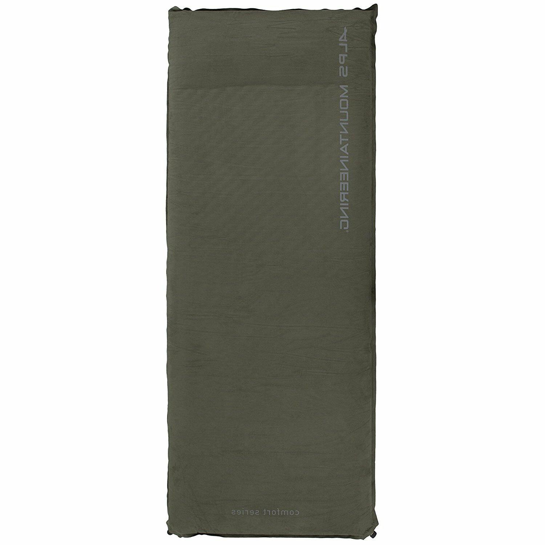 Green XXLong Comfort Air Pad Self Inflating Camping Sleeping