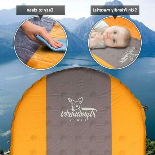 TRIPHUNTER GEARS Sleeping Camping Backpacking Mat