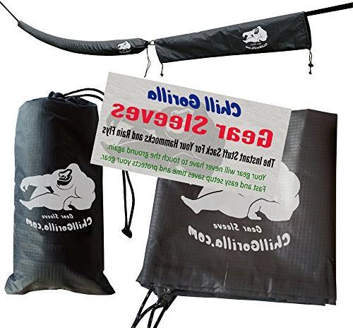 snakeskin sleeves instant stuff sack